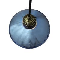 Antique Blue Mercury Glass Pendant   Chairish
