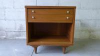 Johnson Carper Mid-Century Modern Nightstand | Chairish