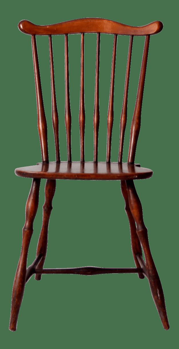 Antique Fan Back Windsor Chair  Chairish