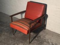 Viko by Baumritter Mid-Century Modern Lounge Chair | Chairish