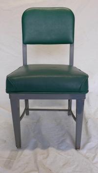 Mid-Century Modern Green Desk Chair   Chairish