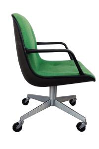 Mid-Century Modern SteelCase Vintage Green Office Chair ...