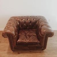 Restoration Hardware Kensington Leather Chair