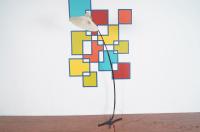 Vintage Modern Adjustable Floor Lamp | Chairish