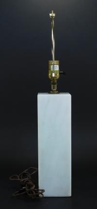 Nessen Vintage Marble Lamp | Chairish