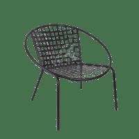 Mid-Century Hoop Design Patio Chair | Chairish