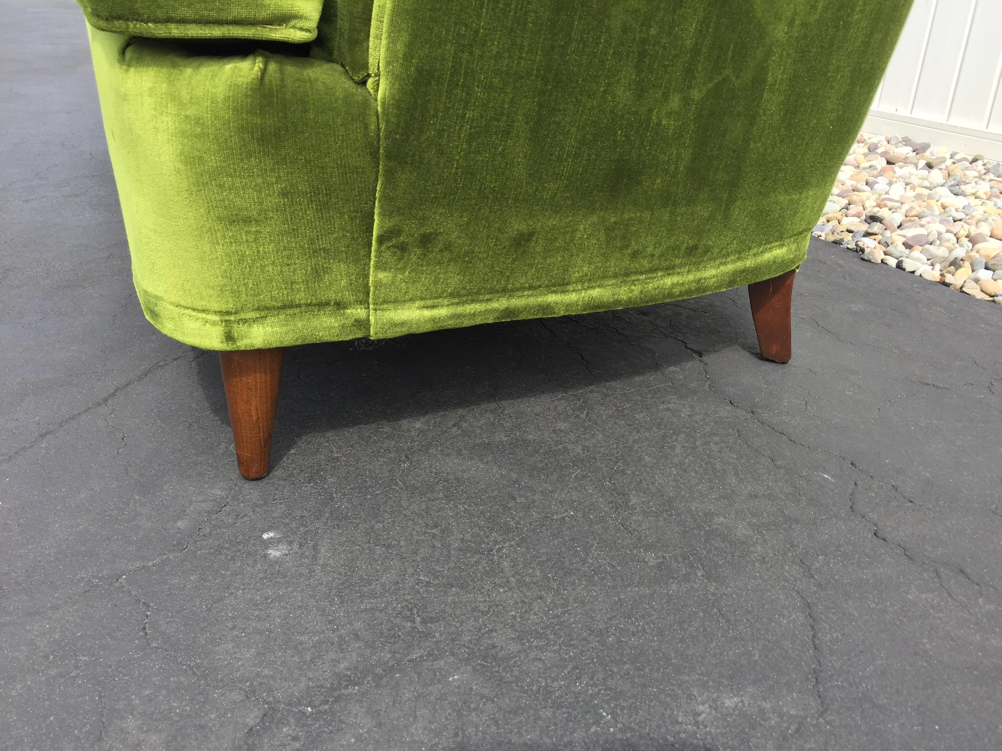 Curved Loveseat Seat Dining