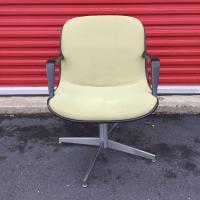 Steelcase Mid-Century Modern Swivel Desk Chair | Chairish