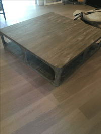 Restoration Hardware Coffee Table | Chairish