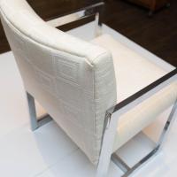 Mid-Century Modern Chrome Armchair | Chairish