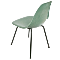 Vintage Mid-Century Fiberglass Chair | Chairish
