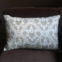 Restoration Hardware Linen Pillow