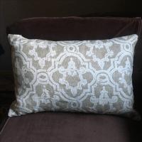 Restoration Hardware Linen Pillow | Chairish