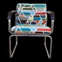 Mid-Century Chrome Chair Circa 1960s | Chairish