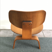 Eames Herman Miller Mid-Century LCW Lounge Chair | Chairish