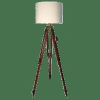 1940s Vintage Swiss Surveyor Tripod Floor Lamp | Chairish