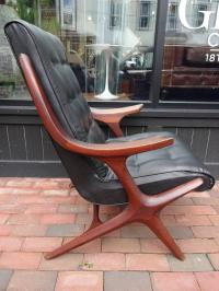Kagan Style Mid-Century Lounge Chair | Chairish