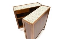 Folding Bar Cart by Henry P. Glass | Chairish