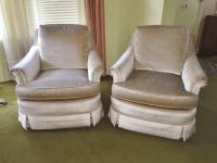 Mid-Century Baker Furniture Club Chairs - A Pair | Chairish