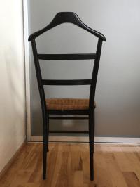 Mid-Century Black Valet Chair | Chairish