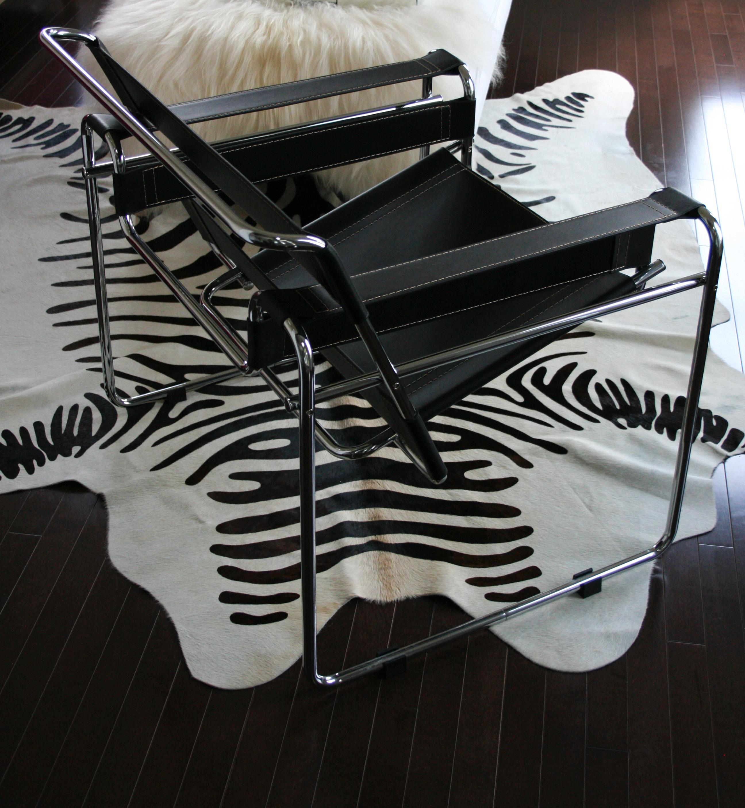 Marcel Breuer Wassily Chair Reproduction  3 Avail  Chairish
