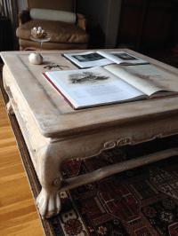 Rustic Boho Chic Coffee Table | Chairish