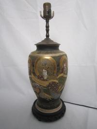 Vintage Japanese Lamp | Chairish