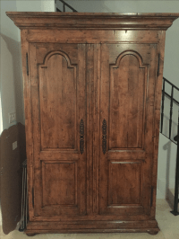 Guy Chaddock Home Office Armoire | Chairish