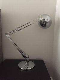 Vintage Luxo Articulated Chrome Desk Lamp | Chairish