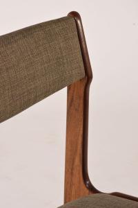 Danish Mid-Century Modern-Style Dining Chairs - Set of Six ...