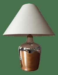 Visual Comfort Mercury Glass Table Lamp | Chairish