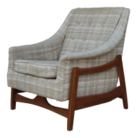 Mid-Century Paoli Rocking Lounge Chair | Chairish
