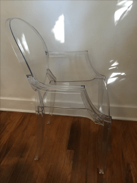 Philippe Starck Kartell Louis Ghost Chairs - Set of 4 ...