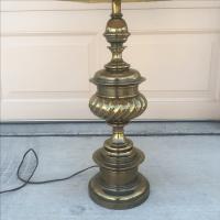 Vintage Stiffel Co. Solid Brass Trophy Lamp | Chairish