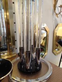 Vintage Lucite Table Lamp | Chairish