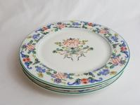 Chinese Porcelain Plates - Set of 3 | Chairish