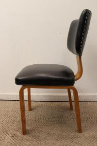 Mid Century Danish Modern Joe Atkinson for Thonet Nailhead ...