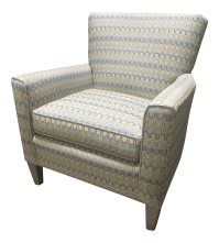 Vintage & Used Blue Club Chairs | Chairish