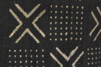 African Mudcloth Pillow Cover | Chairish