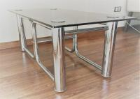 Mid-Century Modern Chrome Coffee Table | Chairish