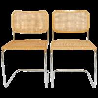 Gavina for Knoll Marcel Breuer Cesca Chairs - a Pair ...