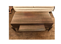 Transitional Rectangular Coffee Table   Chairish