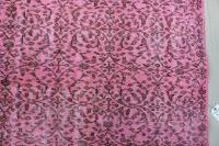 1940s Pink Overdyed Turkish Rug