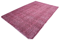 1940s Pink Overdyed Turkish Rug - 64  9 | Chairish