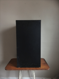 Metal Wood Grain File Cabinet | Chairish