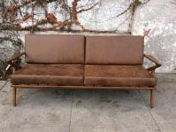 Mid Century Style Z Sofa | Chairish