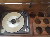 Mid-Century Delmonico Stereo Cabinet/Dry Bar | Chairish