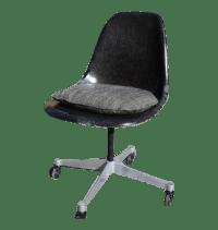 Vintage Eames Herman Miller Fiberglass Task Chair | Chairish