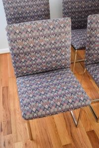 Mid-Century Milo Baughman Style Dining Chairs - Set of 6 ...