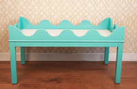 Oomph Hobe Sound Turquoise Coffee Table | Chairish